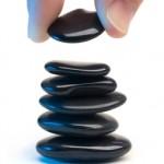 Empiler pierres zen